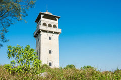 GUNAGDONG, КИТАЙ - 17-ое декабря 2015: Башня вахты клана клыка Zil Стоковые Фотографии RF