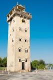 GUNAGDONG, КИТАЙ - 17-ое декабря 2015: Башня Nanlou известное историческое Стоковая Фотография