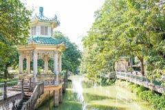 GUNAGDONG, КИТАЙ - 17-ое декабря 2015: Сад Li (Liyuan) известное hist Стоковые Изображения