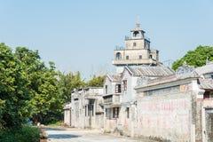GUNAGDONG, CHINA - 18. Dezember 2015: Majianlong-Dorf-Gruppe (UNES Lizenzfreie Stockfotos