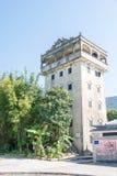 GUNAGDONG, CHINA - 18. Dezember 2015: Majianlong-Dorf-Gruppe (UNES Stockfotos