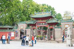 GUNAGDONG, CHINA - Nov 28 2015: Foshan Ancestral Temple(Zumiao T. Emple). a famous historic site in Foshan, Guangdong, China Royalty Free Stock Photos