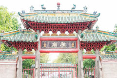 GUNAGDONG, CHINA - Nov 28 2015: Foshan Ancestral Temple(Zumiao T. Emple). a famous historic site in Foshan, Guangdong, China Stock Photo