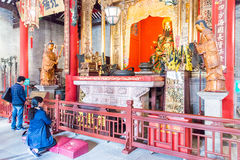 GUNAGDONG, CHINA - Nov 28 2015: Foshan Ancestral Temple(Zumiao T. Emple). a famous historic site in Foshan, Guangdong, China Stock Photos