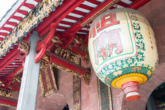 GUNAGDONG, CHINA - Nov 28 2015: Lantern at Foshan Ancestral Temp. Le(Zumiao Temple). a famous historic site in Foshan, Guangdong, China Stock Images