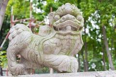 GUNAGDONG, CHINA - Nov 28 2015: Statue at Foshan Ancestral Templ. E(Zumiao Temple). a famous historic site in Foshan, Guangdong, China Royalty Free Stock Photo