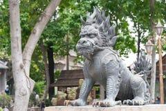 GUNAGDONG, CHINA - Nov 28 2015: Statue at Foshan Ancestral Templ. E(Zumiao Temple). a famous historic site in Foshan, Guangdong, China Stock Photography