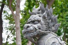 GUNAGDONG, CHINA - Nov 28 2015: Statue at Foshan Ancestral Templ. E(Zumiao Temple). a famous historic site in Foshan, Guangdong, China Royalty Free Stock Image