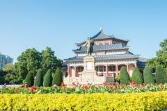 GUNAGDONG KINA - November 26 2015: Dr Sun Yat-sen staty på dren Su Arkivfoto
