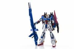 Gundam塑料模型 免版税图库摄影