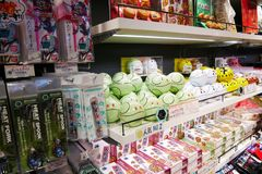 Gundam cukierniany sklep w Odaiba Fotografia Stock