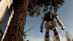 Gundam de Divercity tokyo foto de stock royalty free