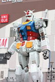 Gundam Mobile Suit real scale 18m tall Stock Photography