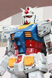 Gundam Mobile Suit real scale 18m tall Royalty Free Stock Photo