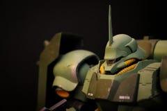 Gundam modela zieleń zdjęcia royalty free