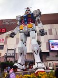 Gundam in Odaiba royalty free stock image
