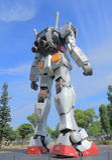 Gundam Odaiba Tokyo Japan Royalty Free Stock Image