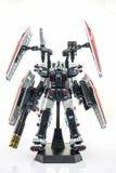 Gundam plast- modell Arkivfoto