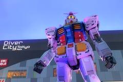 Gundam robot Obrazy Stock
