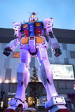 The Gundam robot which is 18 metres high from Royalty Free Stock Images