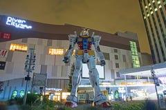 Gundam-Roboter bei DiverCity Tokyo Lizenzfreies Stockbild