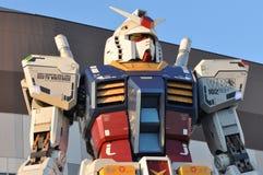 Gundam-Roboterreplik Lizenzfreie Stockfotografie