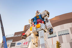 Gundam RX78-2在东京,日本 库存照片