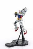 Gundam rx-78-2 HOOFDrangmodel 1/100 Royalty-vrije Stock Fotografie