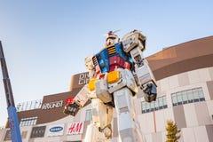 Gundam RX78-2 i Tokyo, Japan Arkivfoton