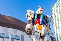 Gundam RX78-2 w Tokio, Japonia Zdjęcia Stock
