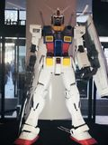 Gundam statue figure in Japan. Gundam statue figure in Odaiba Royalty Free Stock Photography