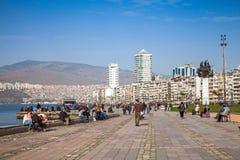 Gundogdu meydanimonument, Izmir, Turkiet Royaltyfri Foto