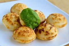 Gundponglu van het zuiden Indische Ontbijt Stock Fotografie