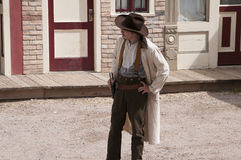 Gunfight at the OK Corral in Tombstone Arizona in the USA Stock Photography