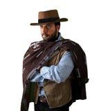 Gunfighter Диких Западов стоковое изображение rf