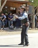 A Gunfighter at Helldorado, Tombstone, Arizona Royalty Free Stock Photos