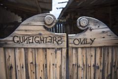 Gunfighters only Royalty Free Stock Images