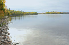 Gunflint Lake Perspective - Minnesota Stock Photo
