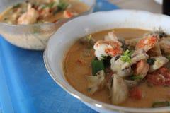 Gung do 'batata doce' de Tom, alimento tailandês Foto de Stock Royalty Free