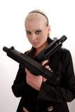 gungirl стоковое фото rf