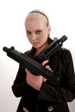 Gungirl Royalty Free Stock Photo