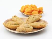 Gunjiya sweet food Stock Images