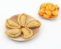 Gunjiya sweet food Royalty Free Stock Image