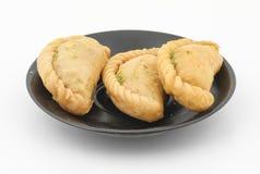 Gunjiya sweet food Royalty Free Stock Photos
