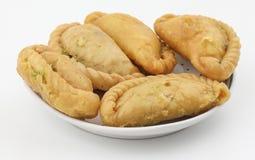 Gunjiya sweet food Stock Photos