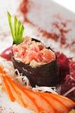gunkan пряная туна суш Стоковые Фото
