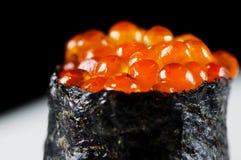 Gunkan Ikura Sushi Stock Photos