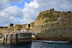 Gunkanjima Royalty Free Stock Photo