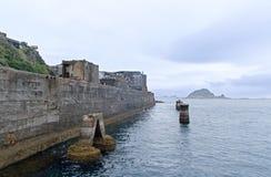 Gunkanjima Royalty Free Stock Photo