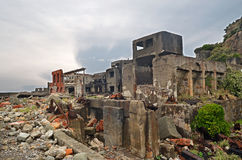 Gunkanjima Stock Photo